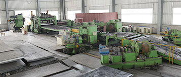 Hot coil leveling production line
