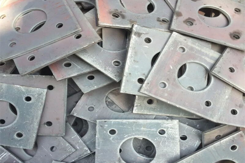 Precision processing steel parts